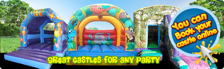 Great Castles for Any Party - You can book online!